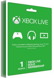 Xbox Live Gold Membership - 1 Month Global