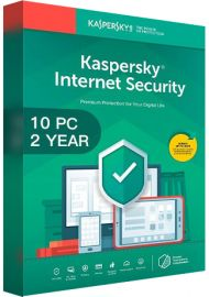 Kaspersky Internet Security Multi Device 2020 - 10 Devices - 2 Years [EU]