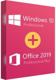 Windows 10 Professional + Office 2019 Pro Plus Bundle