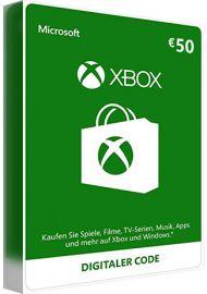 Xbox Live Card - 50 Euro